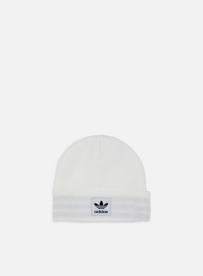 Adidas Originals - Logo Beanie, White/Black