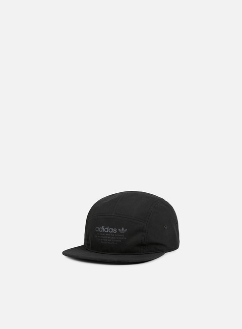 cappellini adidas originals nmd 5 panel cap black