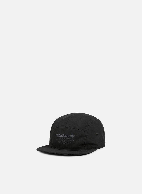 Adidas Originals - NMD 5 Panel Cap, Black