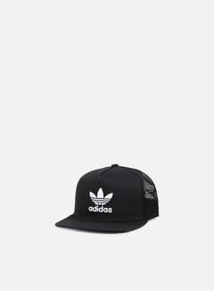 Adidas Originals - Trefoil Trucker Snapback, Black 1