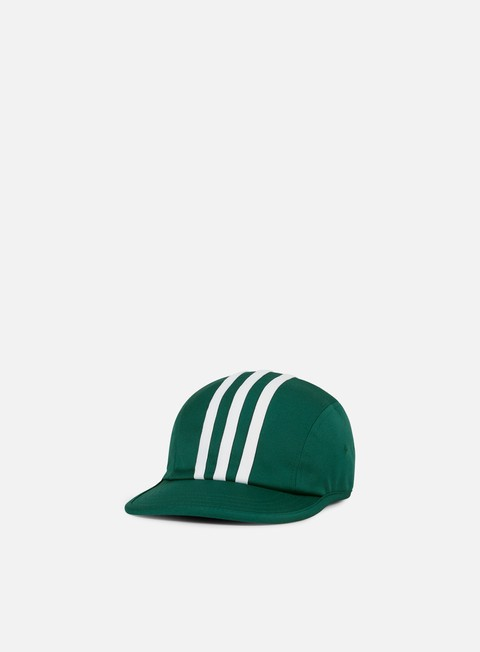 cappellini adidas skateboarding city stripes 4 panel cap collegiate green