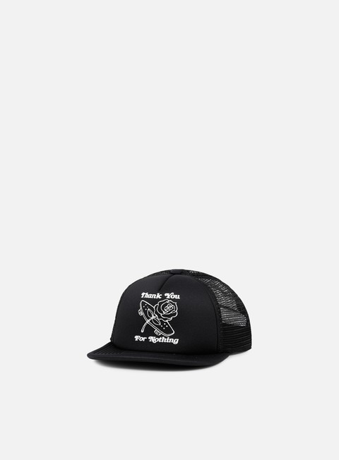 cappellini adidas skateboarding thanks trucker snapback black