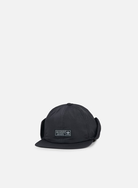 cappellini adidas skateboarding winterized earflap cap black