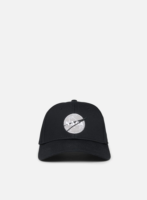 Curved Brim Caps Alpha Industries Nasa Cap