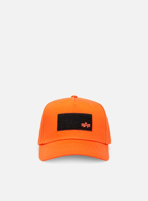 Curved Brim Caps Alpha Industries VLC Patch Cap