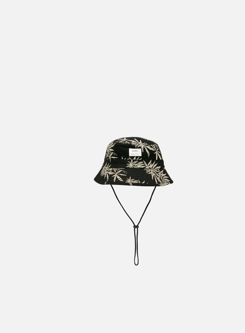 cappellini altamont mule bush hat black white