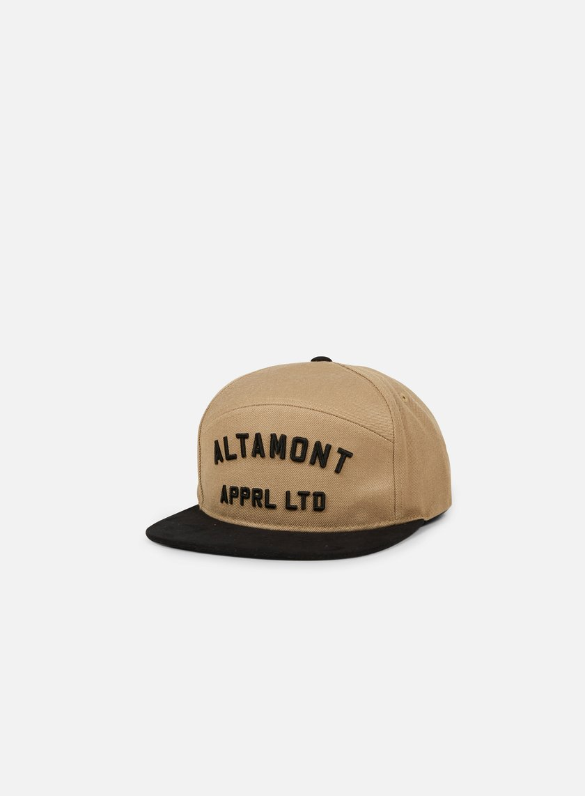 Altamont - Qualifier Snapback, Black/Tan