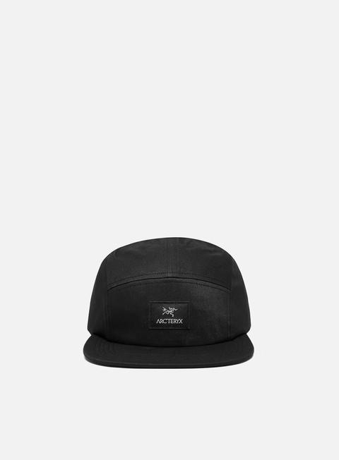 5 Panel Caps Arc'Teryx 5 Panel Label Hat