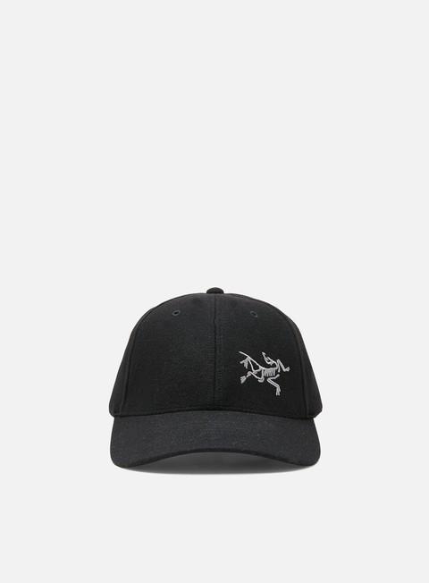 Curved Brim Caps Arc'Teryx Wool Ball Cap