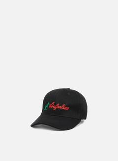 Australian - Embroidered Logo Cap, Black