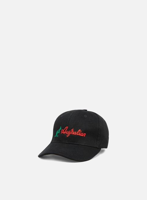 Outlet e Saldi Cappellini Visiera Curva Australian Embroidered Logo Cap