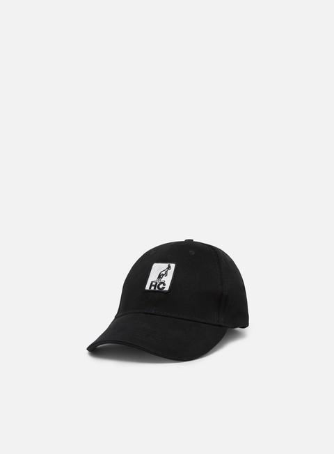 Outlet e Saldi Cappellini Visiera Curva Australian HC Patch Logo Hat