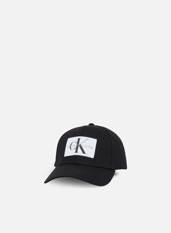 Calvin Klein Jeans Monogram Baseball Cap