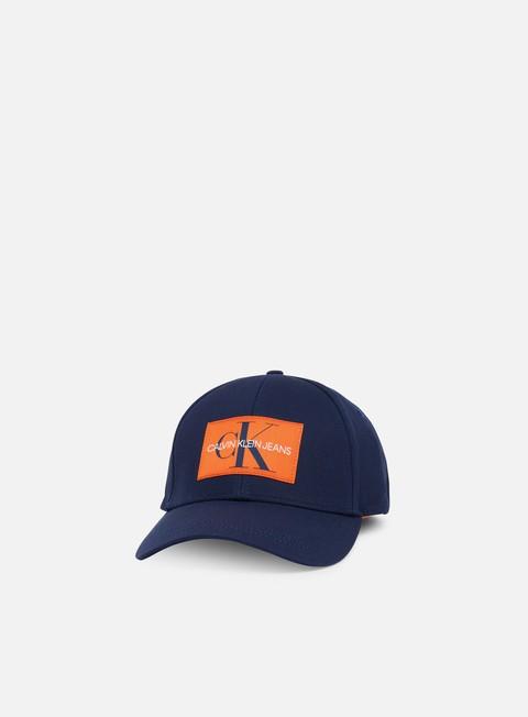 Curved Brim Caps Calvin Klein Jeans Monogram Baseball Cap
