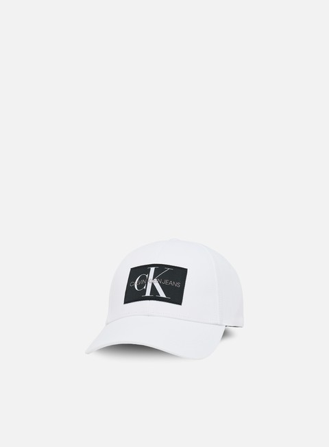 Sale Outlet Curved Brim Caps Calvin Klein Jeans Monogram Baseball Cap