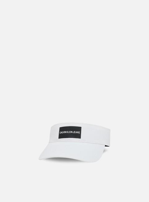 cappellini calvin klein jeans printed logo viser bright white