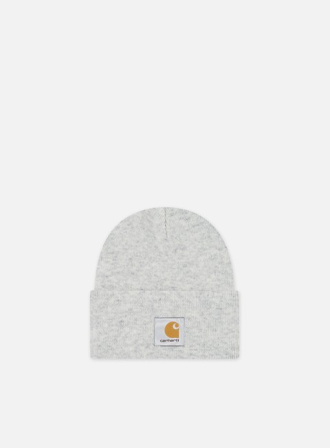 cappellini carhartt acrylic watch hat ash heather