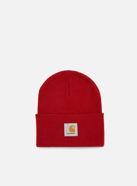 cappellini carhartt acrylic watch hat blast red