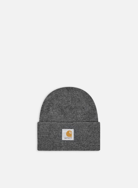 cappellini carhartt acrylic watch hat dark grey heather