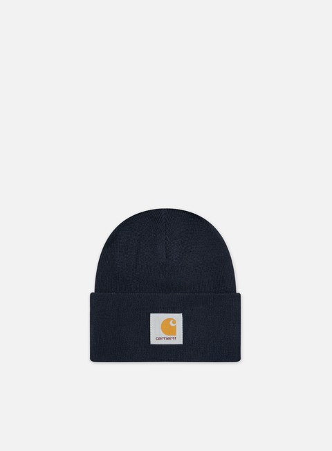 cappellini carhartt acrylic watch hat dark navy