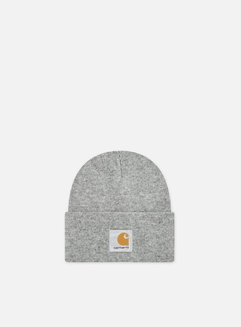 cappellini carhartt acrylic watch hat heather grey