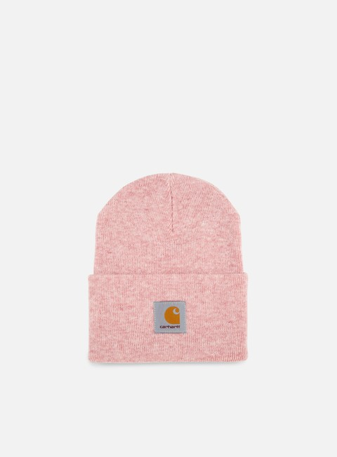 cappellini carhartt acrylic watch hat soft rose heather
