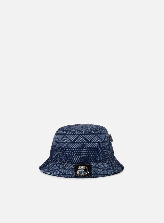 Carhartt - Assyut Print Bucket Hat, Assyut Print Blue/White