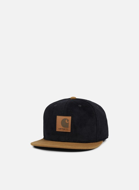 cappellini carhartt gibson cap black hamilton brown