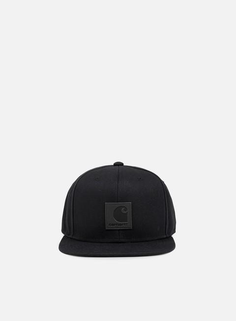 cappellini carhartt logo cap black