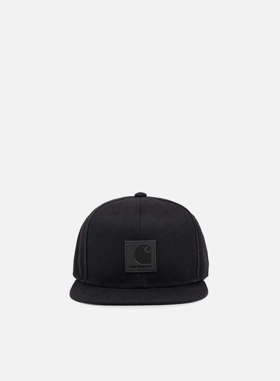 Carhartt - Logo Cap, Black