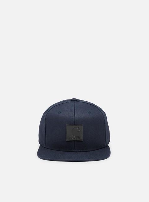cappellini carhartt logo cap dark navy