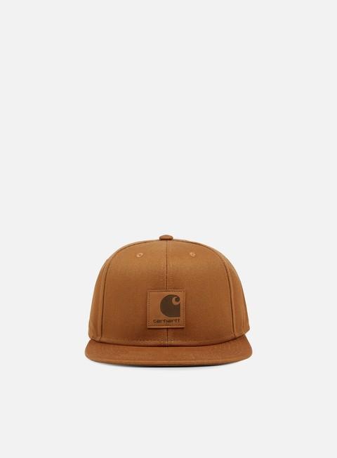 cappellini carhartt logo cap hamilton brown