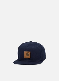 Carhartt - Logo Cap, Navy 1