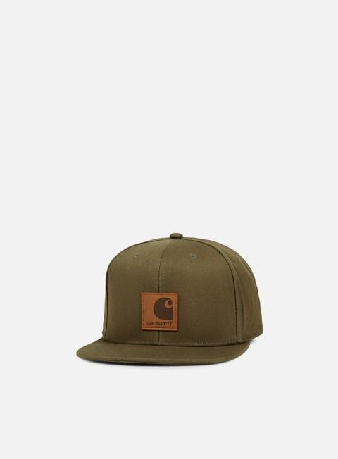 cappellini carhartt logo cap rover green