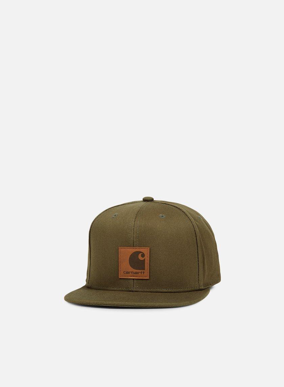Carhartt - Logo Cap, Rover Green