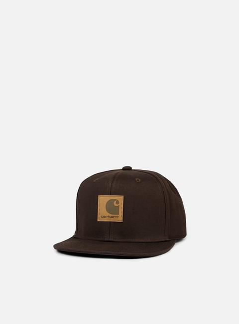 cappellini carhartt logo cap tobacco