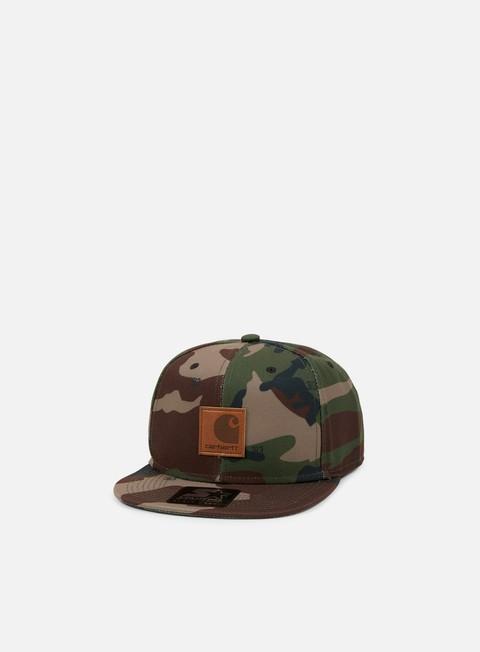 cappellini carhartt logo starter cap camo 313 green