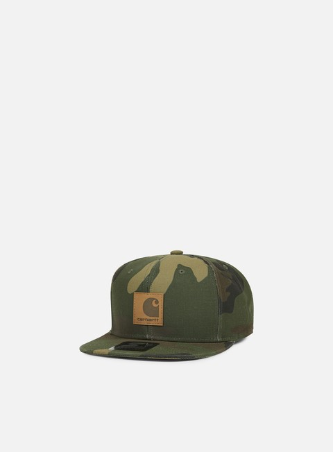 cappellini carhartt logo starter cap camo laurel