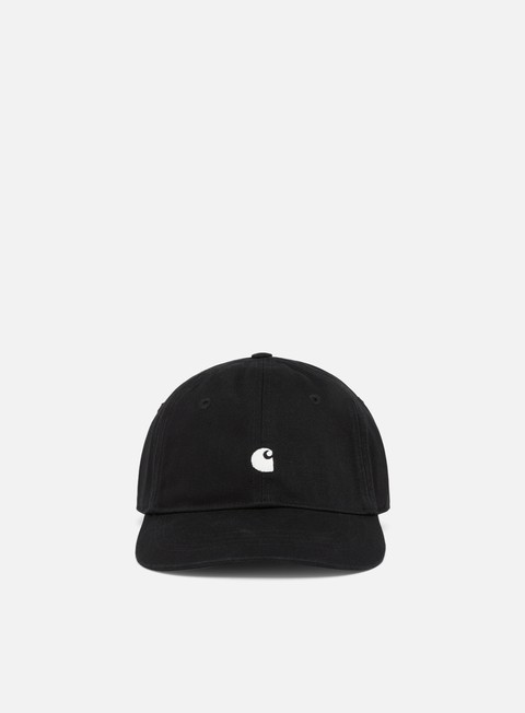 cappellini carhartt madison logo cap black white