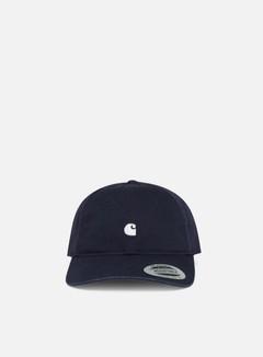 Carhartt - Madison Logo Cap, Dark Navy/White