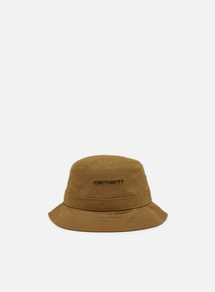 Carhartt - Script Bucket Hat, Hamilton Brown/Black