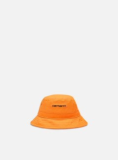 Carhartt - Script Bucket Hat, Pop Orange/Black