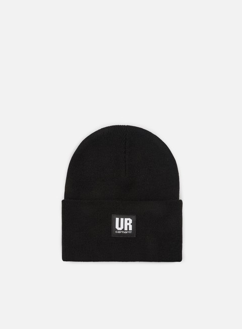 cappellini carhartt ur acrylic watch hat black
