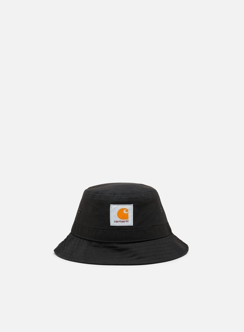 cappellini carhartt watch bucket hat black