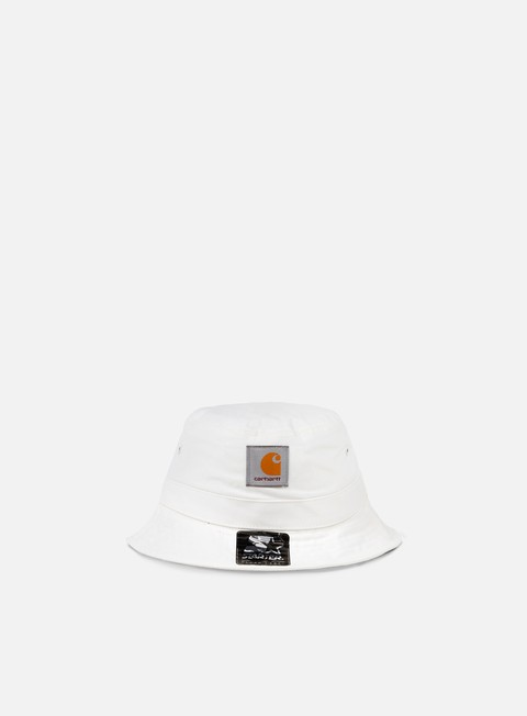 cappellini carhartt watch bucket hat broken white