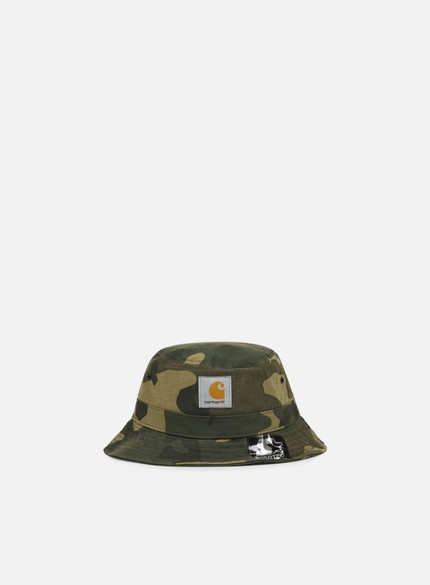 cappellini carhartt watch bucket hat camo laurel