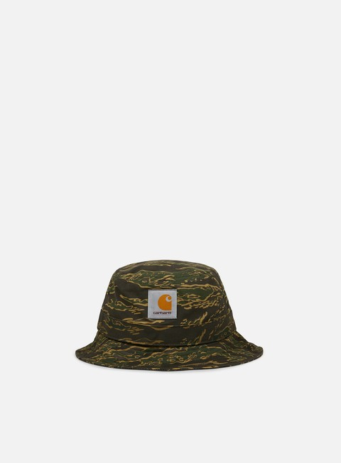 cappellini carhartt watch bucket hat camo tiger