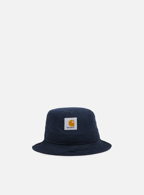 cappellini carhartt watch bucket hat navy