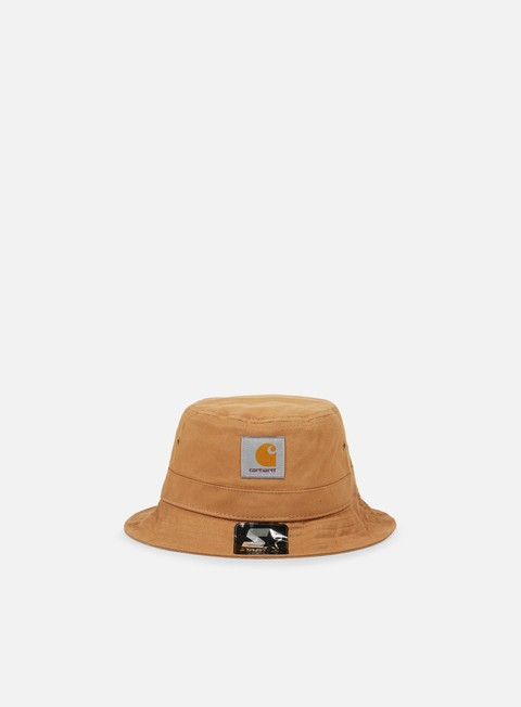 cappellini carhartt watch starter bucket hat hamilton brown