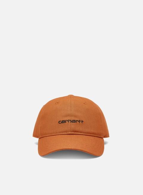 Curved Brim Caps Carhartt WIP Canvas Script Cap